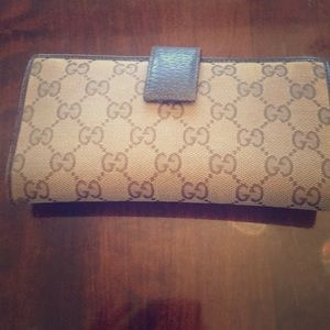 Gucci Wallet, Authentic